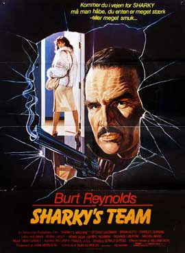 Sharky's Machine - 11 x 17 Movie Poster - Danish Style A