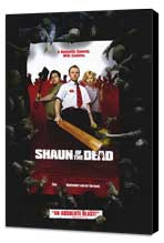 Shaun of the Dead - 11 x 17 Movie Poster - Style B - Museum Wrapped Canvas