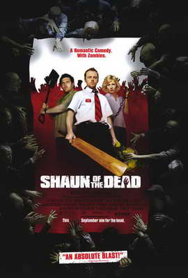 Shaun of the Dead - 27 x 40 Movie Poster - Style B