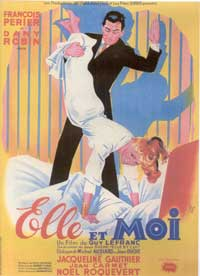 She and Me - 11 x 17 Movie Poster - French Style A