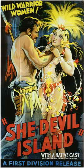 She-Devil Island - 11 x 17 Movie Poster - Style A