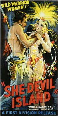 She-Devil Island - 43 x 62 Movie Poster - Bus Shelter Style A