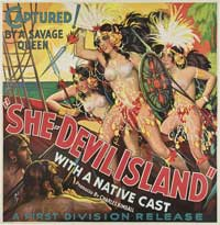 She-Devil Island - 30 x 30 Movie Poster - Style A