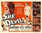 She Devil - 22 x 28 Movie Poster - Half Sheet Style A