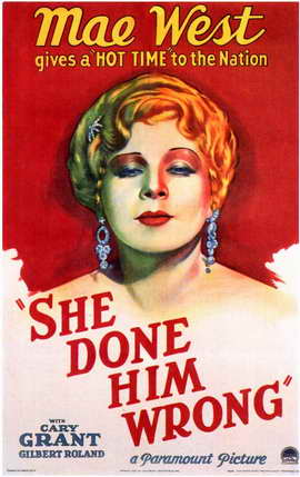 She Done Him Wrong - 11 x 17 Movie Poster - Style A