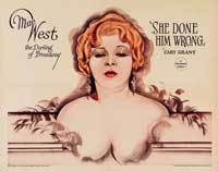 She Done Him Wrong - 30 x 40 Movie Poster UK - Style A
