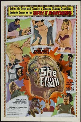 She-Freak - 11 x 17 Movie Poster - Style A
