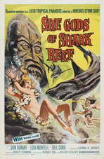 She Gods of Shark Reef - 11 x 17 Movie Poster - Style A