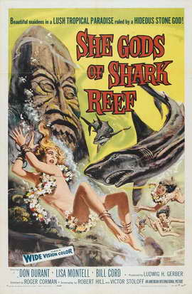 She Gods of Shark Reef - 27 x 40 Movie Poster - Style A