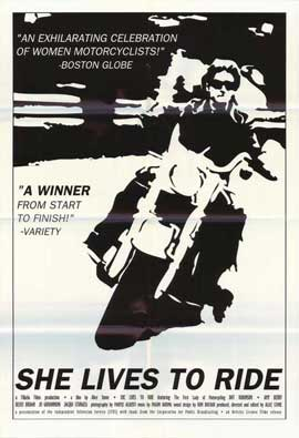 She Lives to Ride - 27 x 40 Movie Poster - Style A