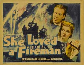 She Loved a Fireman - 11 x 14 Movie Poster - Style A
