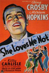 She Loves Me Not - 27 x 40 Movie Poster - Style A