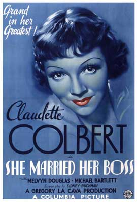 She Married Her Boss - 27 x 40 Movie Poster - Style A