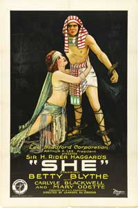 She - 43 x 62 Movie Poster - Bus Shelter Style B
