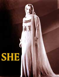 She - 11 x 17 Movie Poster - Style E