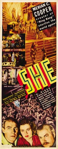 She - 14 x 36 Movie Poster - Insert Style B