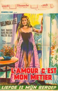 She Walks By Night - 27 x 40 Movie Poster - Belgian Style A