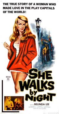 She Walks By Night - 20 x 40 Movie Poster - Style A