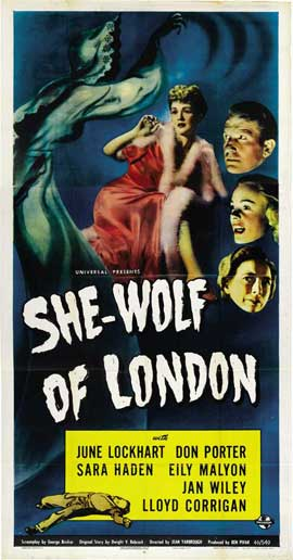 She-Wolf of London - 11 x 17 Movie Poster - Style A