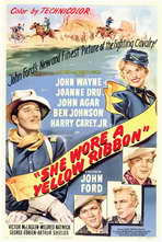 She Wore a Yellow Ribbon - 11 x 17 Movie Poster - Style A
