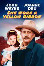 She Wore a Yellow Ribbon - 11 x 17 Movie Poster - Style B