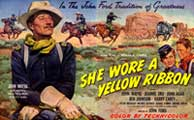 She Wore a Yellow Ribbon - 11 x 17 Movie Poster - Style E