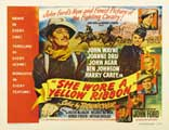 She Wore a Yellow Ribbon - 22 x 28 Movie Poster - Half Sheet Style A