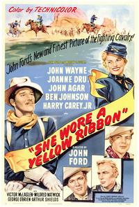 She Wore a Yellow Ribbon - 27 x 40 Movie Poster - Style A