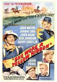 She Wore a Yellow Ribbon - 43 x 62 Movie Poster - Bus Shelter Style A