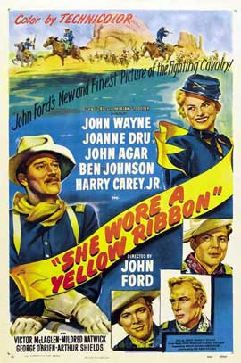 She Wore a Yellow Ribbon - 11 x 17 Movie Poster - Style C