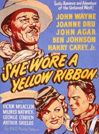 She Wore a Yellow Ribbon - 11 x 17 Movie Poster - Style D