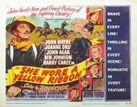She Wore a Yellow Ribbon - 11 x 14 Movie Poster - Style A
