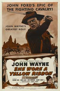 She Wore a Yellow Ribbon - 27 x 40 Movie Poster - Style C