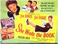 She Wrote the Book - 11 x 14 Movie Poster - Style A