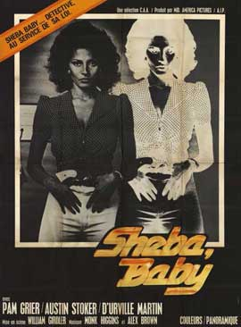 Sheba, Baby - 11 x 17 Movie Poster - Style B
