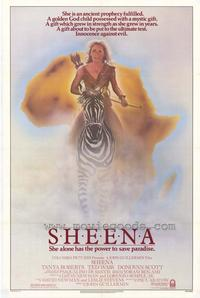 Sheena - 43 x 62 Movie Poster - Bus Shelter Style A