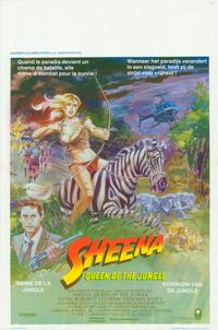Sheena - 11 x 17 Movie Poster - Belgian Style A
