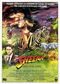 Sheena - 11 x 17 Movie Poster - Spanish Style A