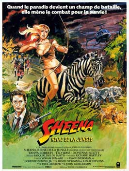 Sheena - 11 x 17 Movie Poster - French Style A