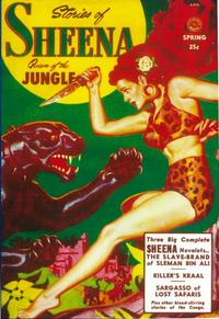 Sheena Queen of The Jungle (Pulp) - 11 x 17 Pulp Poster - Style A
