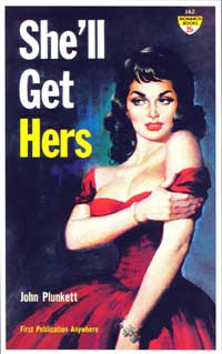 She'll Get Hers - 11 x 17 Retro Book Cover Poster
