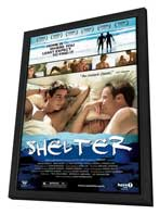 Shelter - 27 x 40 Movie Poster - Style A - in Deluxe Wood Frame