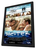 Shelter - 11 x 17 Movie Poster - Style A - in Deluxe Wood Frame