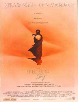 The Sheltering Sky - 27 x 40 Movie Poster - Style B