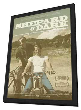 Shepard & Dark - 11 x 17 Movie Poster - Style A - in Deluxe Wood Frame