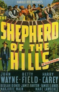 Shepherd of the Hills - 11 x 17 Movie Poster - Style B