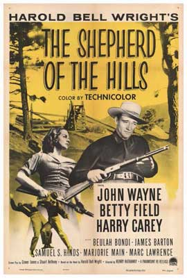 Shepherd of the Hills - 27 x 40 Movie Poster - Style A