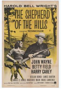 Shepherd of the Hills - 43 x 62 Movie Poster - Bus Shelter Style A