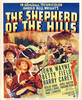 Shepherd of the Hills - 11 x 17 Movie Poster - Style C