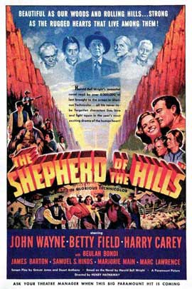 Shepherd of the Hills - 11 x 17 Movie Poster - Style D